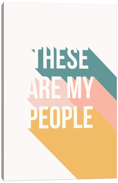 My People Canvas Art Print