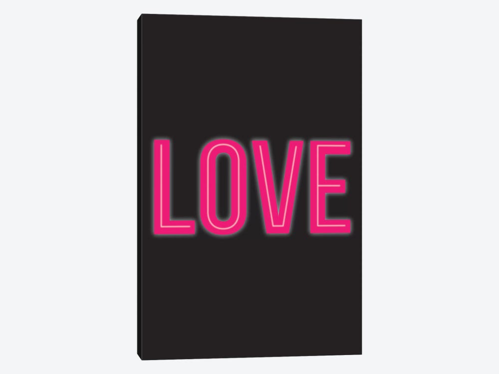 Neon Love by The Native State 1-piece Canvas Wall Art