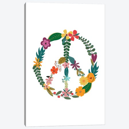 Peace Canvas Print #TNS85} by The Native State Canvas Artwork