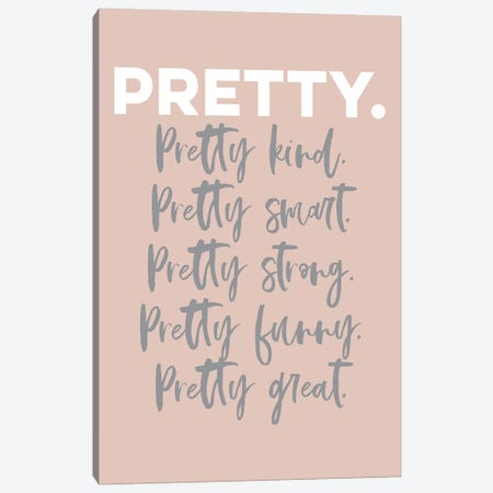 Pretty Canvas Print #TNS90} by The Native State Canvas Art