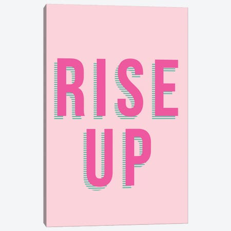 Rise Up  Canvas Print #TNS95} by The Native State Canvas Art Print