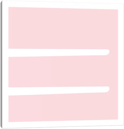 Equal4 Canvas Art Print