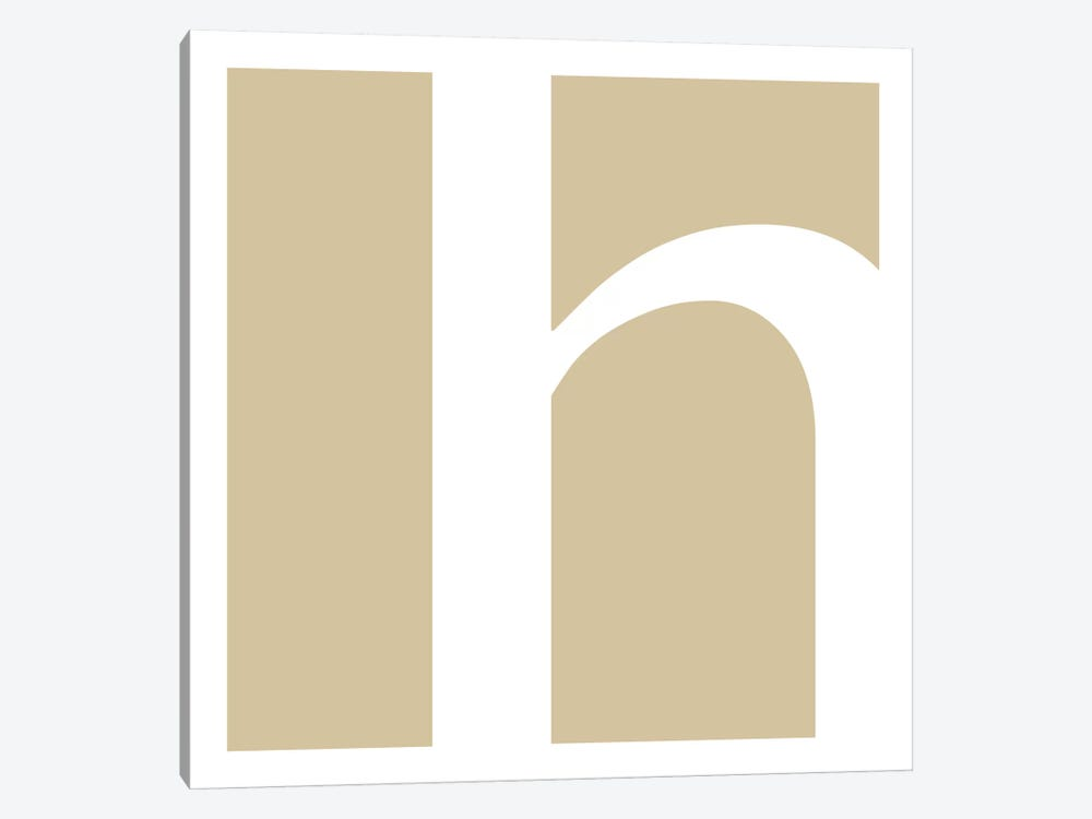 H3 by 5by5collective 1-piece Canvas Art Print