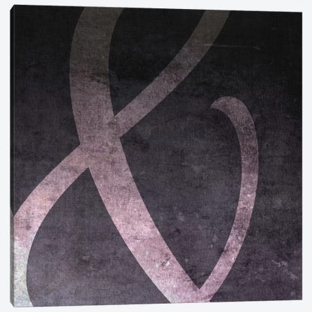 Film Negative Ampersand Canvas Print #TOA201} by 5by5collective Canvas Art