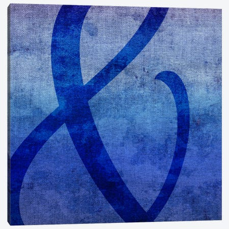 Blue to Purple Ampersand Canvas Print #TOA205} by 5by5collective Canvas Print