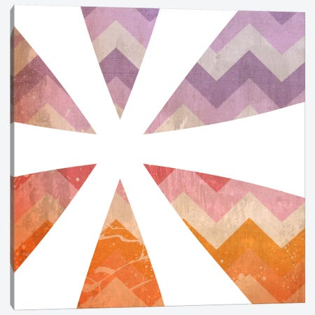 Blah Stain Asterisk Canvas Print #TOA209} by 5by5collective Canvas Wall Art
