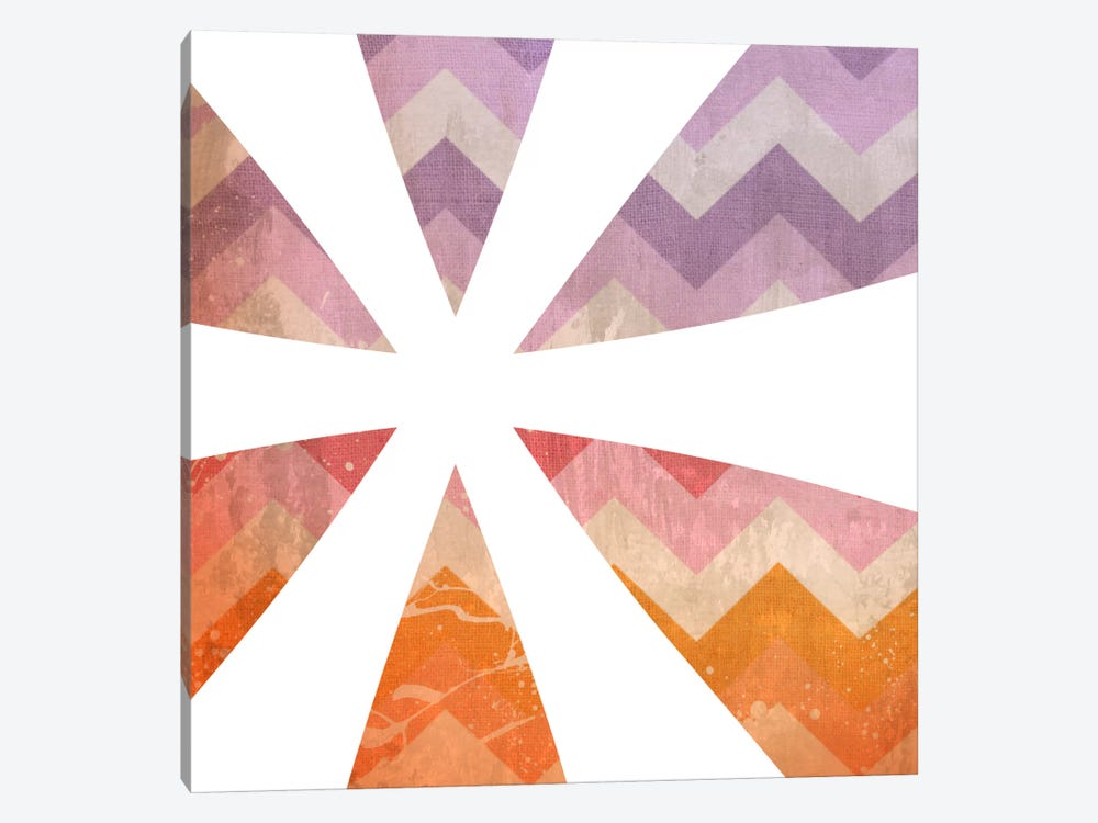 Blah Stain Asterisk by 5by5collective 1-piece Canvas Print