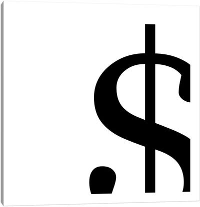 dollar sign2 Canvas Art Print