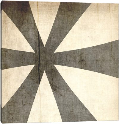 Bleached Linen Asterisk Canvas Art Print