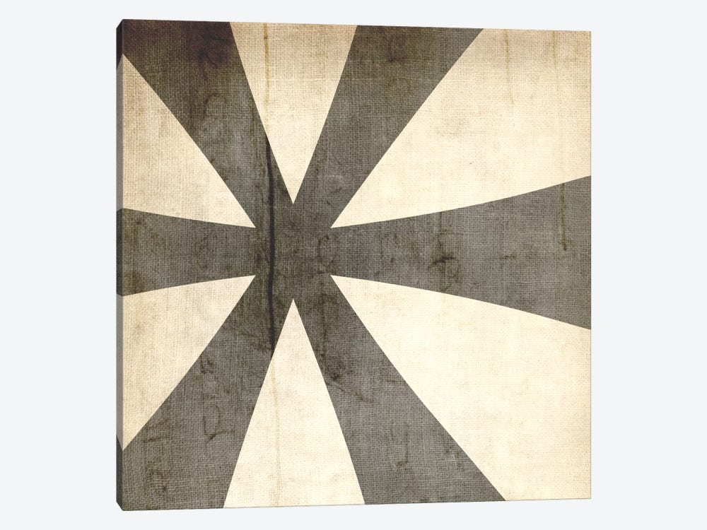 Bleached Linen Asterisk by 5by5collective 1-piece Canvas Print