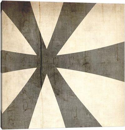 Bleached Linen Asterisk Canvas Art Print