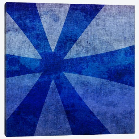 Blue to Purple Asterisk Canvas Print #TOA211} by 5by5collective Art Print