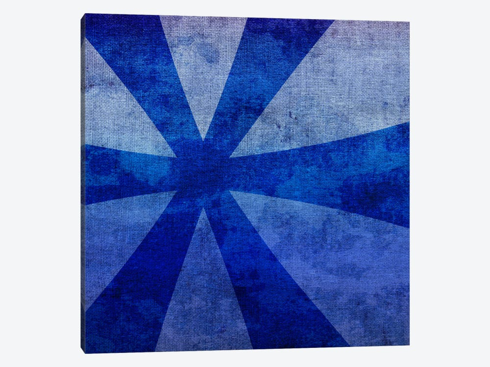 Blue to Purple Asterisk by 5by5collective 1-piece Canvas Wall Art