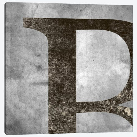 B-Silver Fading Canvas Print #TOA224} by 5by5collective Canvas Print