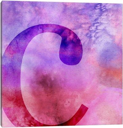 C-Purple Canvas Art Print