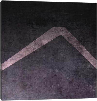 Caret-B&W Neg Canvas Print #TOA237