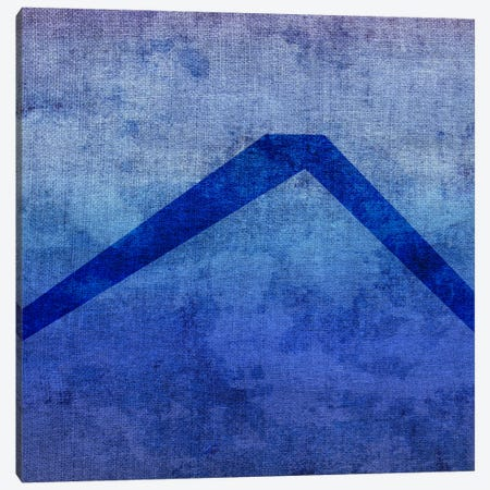 Caret-Blue To Purple Stain Canvas Print #TOA241} by 5by5collective Canvas Art
