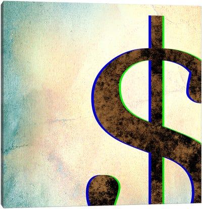 dollar sign-Insta Canvas Art Print