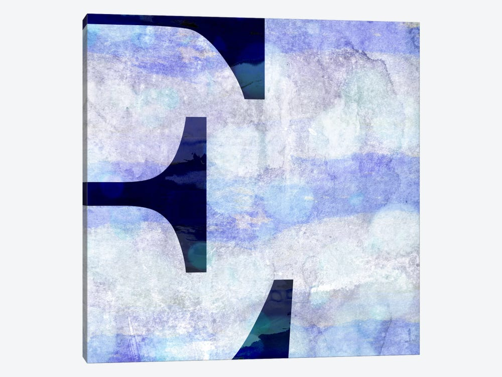 E-Hazy by 5by5collective 1-piece Canvas Print