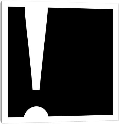 exclamation1 Canvas Art Print