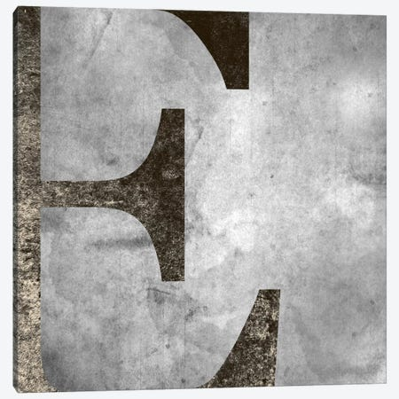 E-Silver Fading Canvas Print #TOA260} by 5by5collective Canvas Artwork