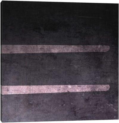 Equal-B&W Neg Canvas Art Print