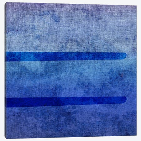 Equal-Blue To Purple Stain Canvas Print #TOA265} by 5by5collective Art Print