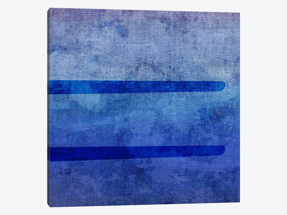 Equal-Blue To Purple Stain by 5by5collective 1-piece Art Print