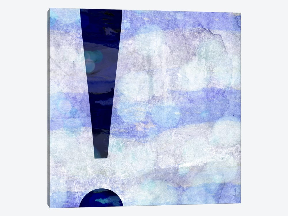 exclamation-Hazy by 5by5collective 1-piece Canvas Art