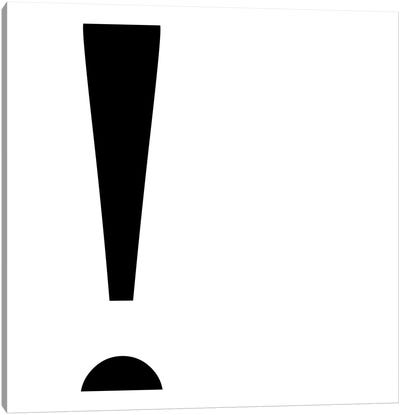 exclamation2 Canvas Art Print