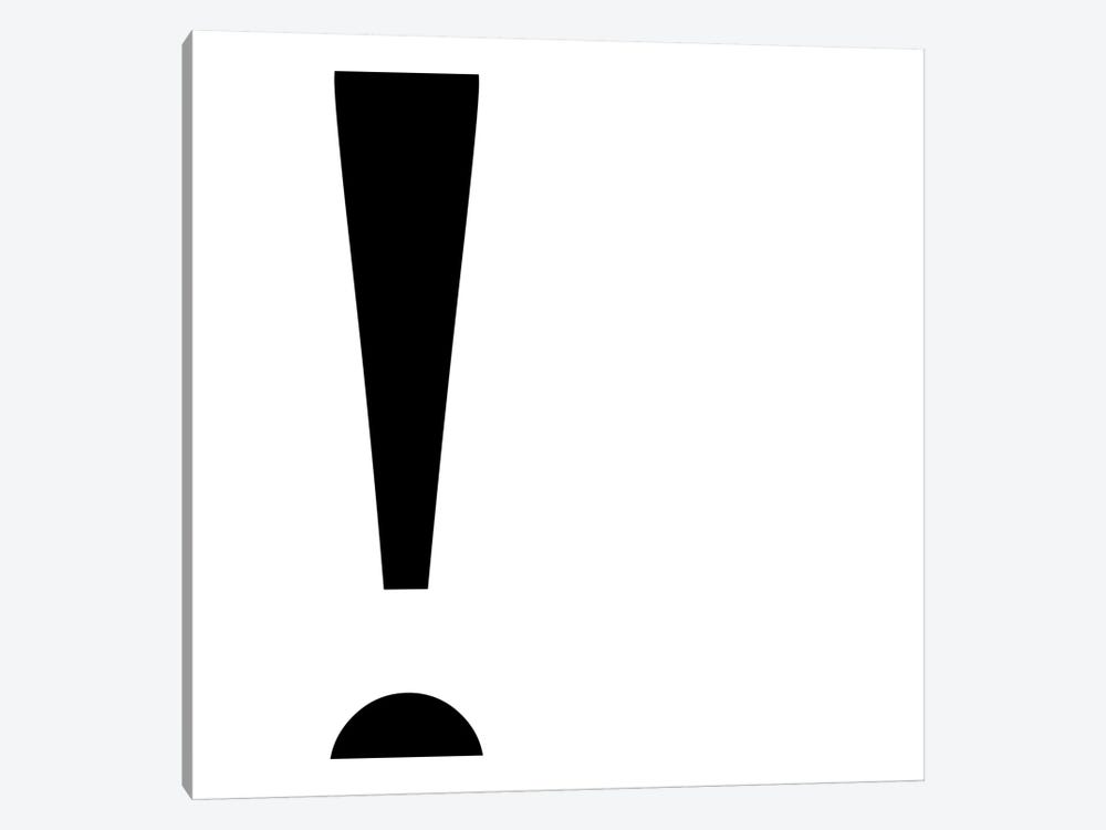 exclamation2 by 5by5collective 1-piece Canvas Art
