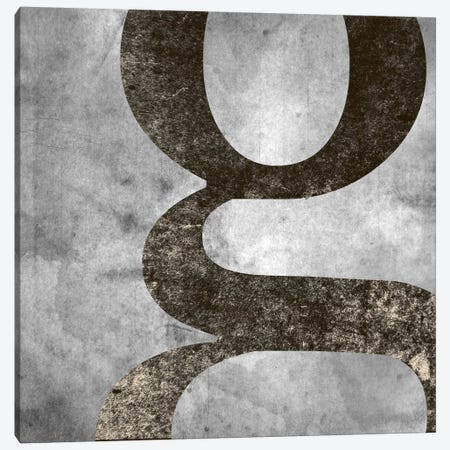 G-Silver Fading Canvas Print #TOA284} by 5by5collective Canvas Print