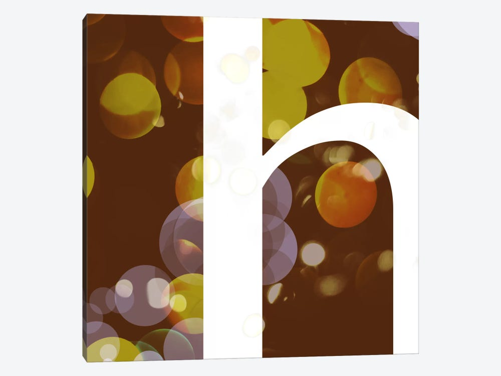 H-Pearl by 5by5collective 1-piece Canvas Art Print