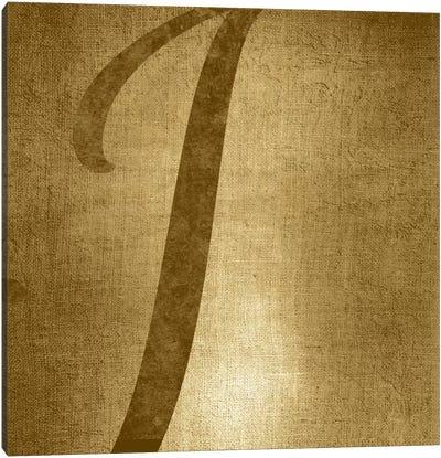 I-Gold Shimmer Canvas Art Print