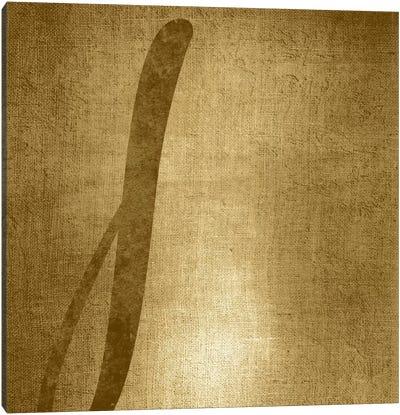 J-Gold Shimmer Canvas Art Print