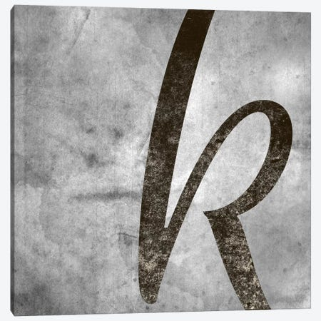 K-Silver Fading Canvas Print #TOA314} by 5by5collective Canvas Print