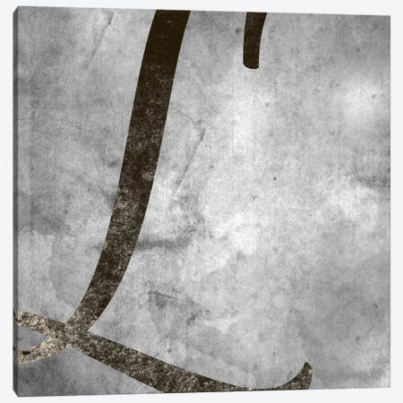 L-Silver Fading Canvas Print #TOA320} by 5by5collective Canvas Print