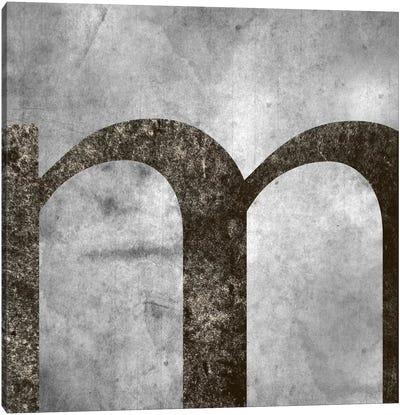 M-Silver Fading Canvas Art Print