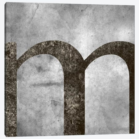 M-Silver Fading Canvas Print #TOA326} by 5by5collective Canvas Art