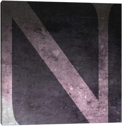 N-B&W Neg Canvas Art Print