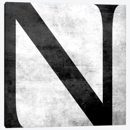 N-B&W Scuff Canvas Print #TOA328} by 5by5collective Canvas Art Print