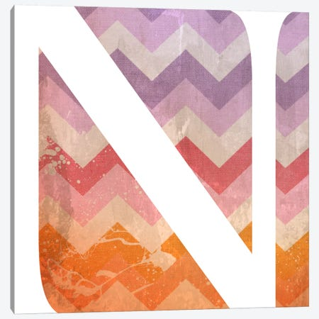 N-Blah Stained Canvas Print #TOA329} by 5by5collective Canvas Print