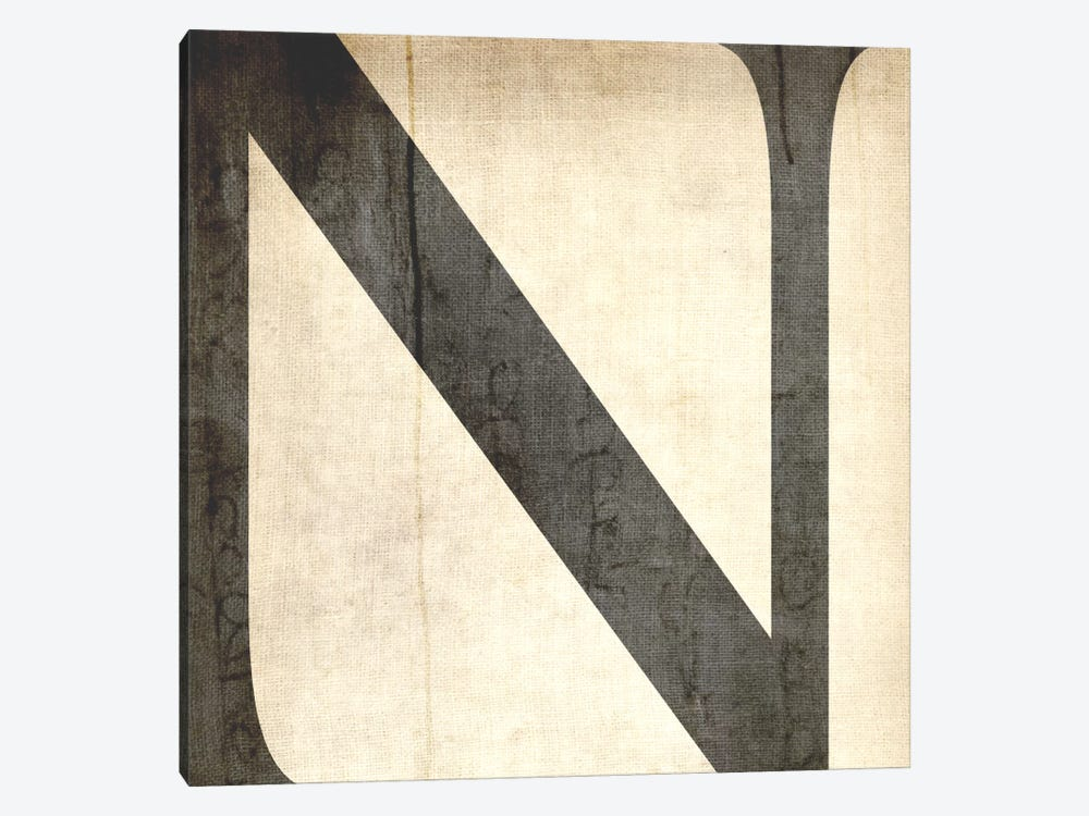 N-Bleached Linen 1-piece Canvas Wall Art