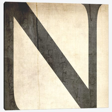N-Bleached Linen Canvas Print #TOA330} by 5by5collective Canvas Artwork