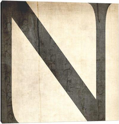 N-Bleached Linen Canvas Art Print