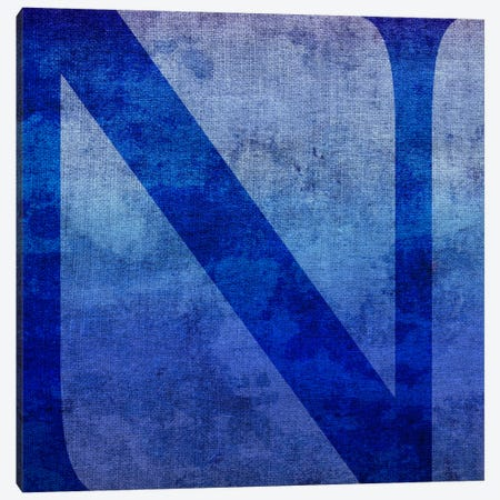 N-Blue To Purple Stain Canvas Print #TOA331} by 5by5collective Canvas Art