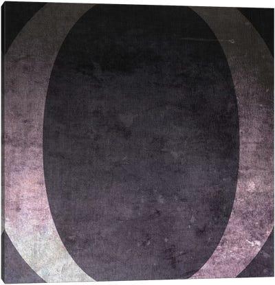 O-B&W Neg Canvas Art Print