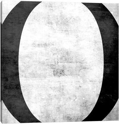 O-B&W Scuff Canvas Art Print