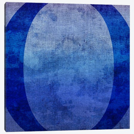 O-Blue To Purple Stain 3-Piece Canvas #TOA337} by 5by5collective Canvas Art Print