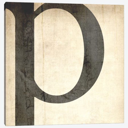 P-Bleached Linen Canvas Print #TOA348} by 5by5collective Canvas Art Print